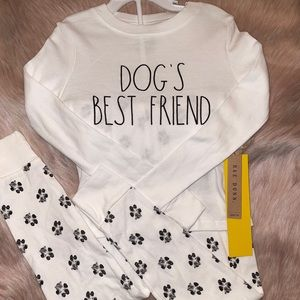 RAE DUNN  |  DOG'S BEST FRIEND  |  2 Piece Set